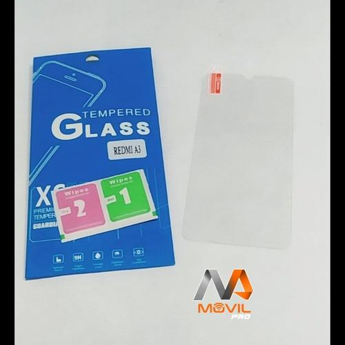 Vidrio Templado 9h Xiaomi Redmi A3 Somos Movil Pro