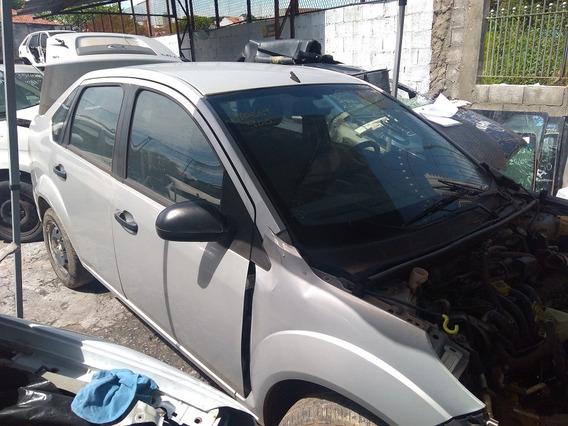 Sucata Ford Fiesta Sedan 1.6 Para Retirada De Peças