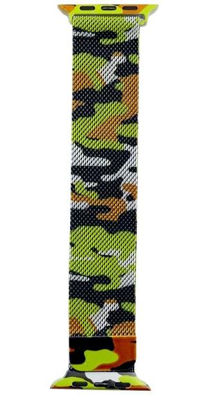 Pulseira Nylon Nike Silicone Camuflada