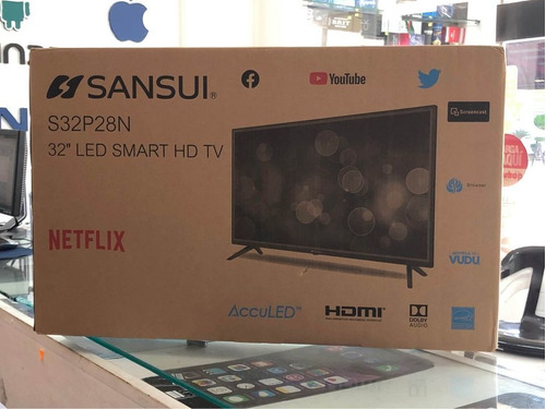Smart Tv Sansui 32 Pulgadas 1080p