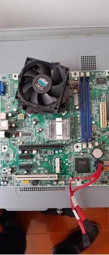 Motherboard + Procesador Intel 2.6 Soporta Win10