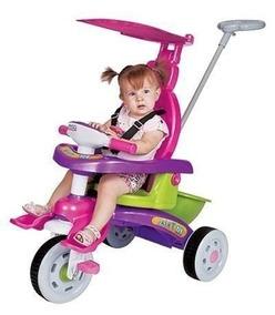 Carrinho De Passeio Bebê Triciclo Fit Trike 3339 Magic Toys