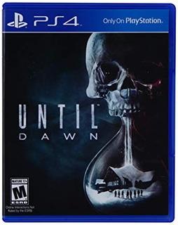 Until Dawn Ps4 Nuevo Fisico Sellado Playstation 4