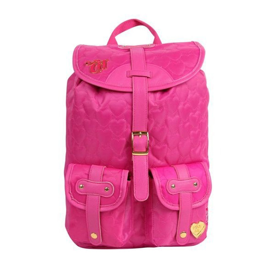 Mochila Capricho Love 2 Bolsos - Pink