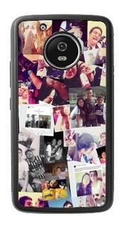 Case Moto E4 E5 X4 G4 G5 G6 G7 Z Z2 Play Plus Personalizado