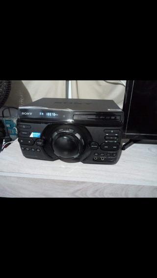 Mini System Sony,dvd/cd,usb,mp3,rádio,dj,karaokê,hdmi,1600w.