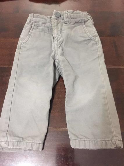 Pantalón Importado Forrado Gap 12/18 Años