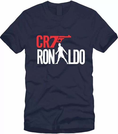 Playera Cristiano Ronaldo 007 Cr7 Para Niño Y Hombre