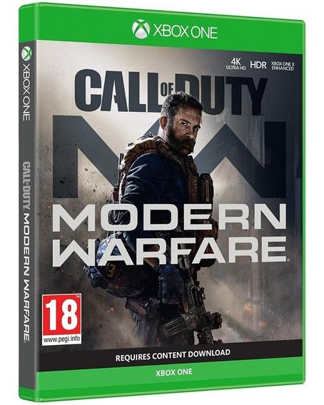 Jogo Call Of Duty Modern Warfare Xbox One Midia Fisica Novo