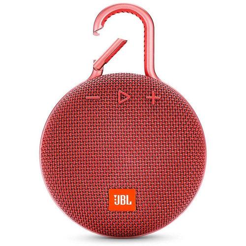 Imagem 1 de 4 de Caixa Bluetooth Clip3 Ipx7 Vermelha- Jbl