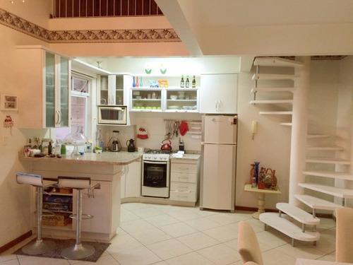 Imagem 1 de 14 de Cobertura Duplex A Venda Na Praia De Canasvieiras - Co0377