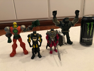 Figuras De Acción De Batman Por 4 Personajes