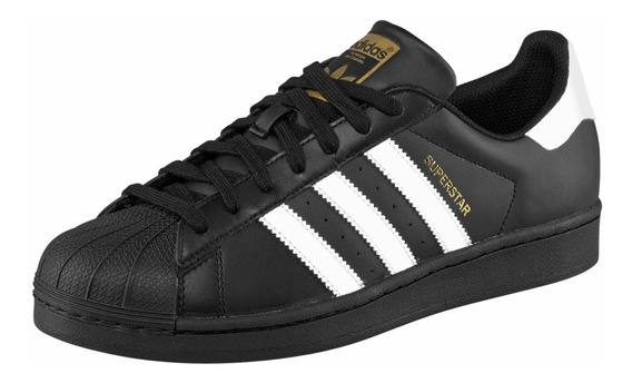 Tenis adidas Superstar Concha Black White Llega De 1a 2 Dias