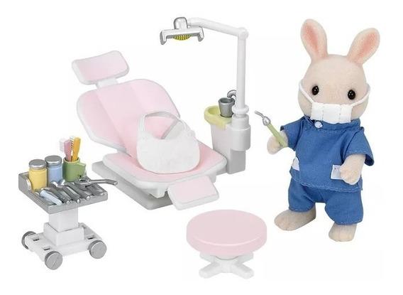 Sylvanian Families Conjunto Dentista Do Campo Epoch