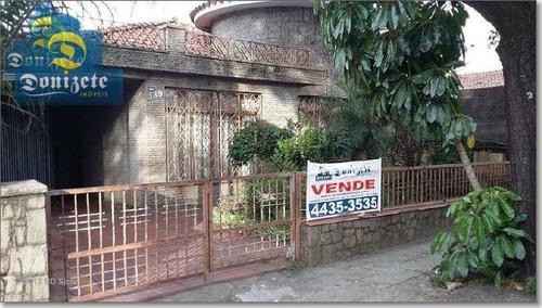 Terreno À Venda, 400 M² Por R$ 1.751.000,00 - Vila América - Santo André/sp - Te0547