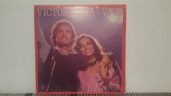 Victor Manuel Y Ana Belen En Vivo Vinilo Nacional 1983