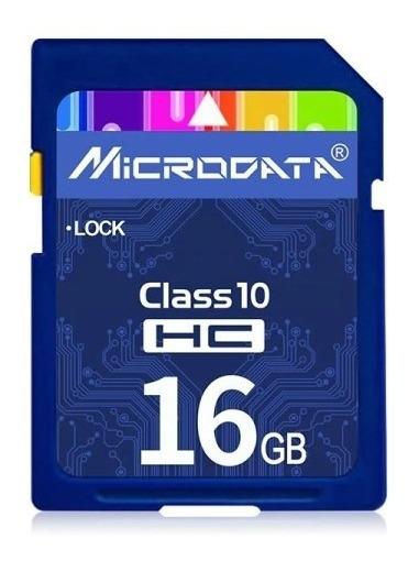 Cartão De Mémoria Para Câmera Microdriver 16gb