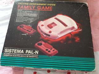 Consola Family Game Mas Cartuchos Con Juego. Retro
