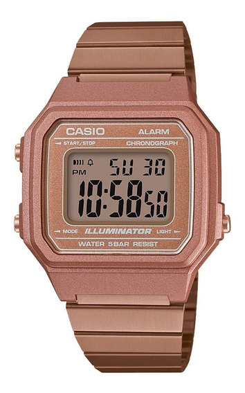 Relógio Casio Rosê Vintage Retro Original Garantia