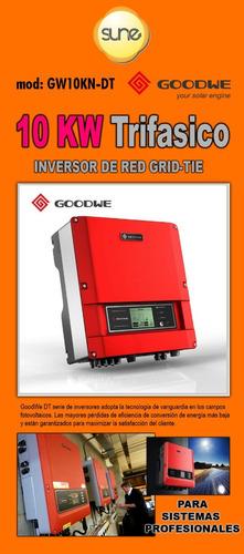 Energía Solar Inversor De Red Grid-tie 10kw
