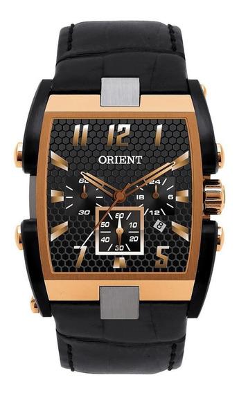 Relógio Orient Masculino Cronógrafo Couro Gtscc002 P2px