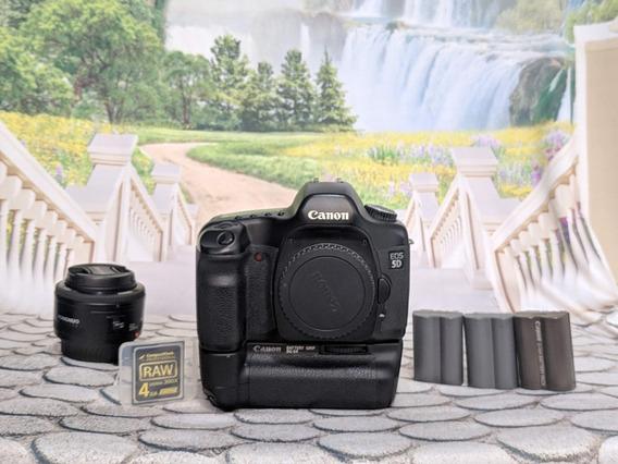 Canon 5d Mark - Full Frame + Acessórios + Lentes + Brinde