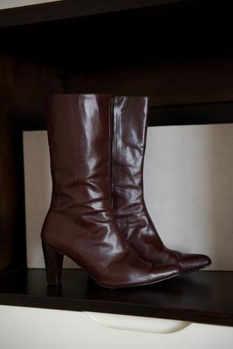 Botas De Cuero - Excelente Calidad - Nº 38