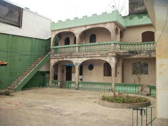 Casa Térrea Para Locação No Bairro Centro Em Diadema - Cod: Di5244 - Di5244