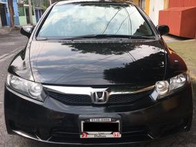Honda Civic 2010-lx-negro-4puertas-automatico-todo En Regla