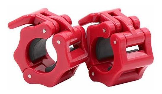 Standard Bar Collars Quick Release Barbell Clamps 1 Pulgada