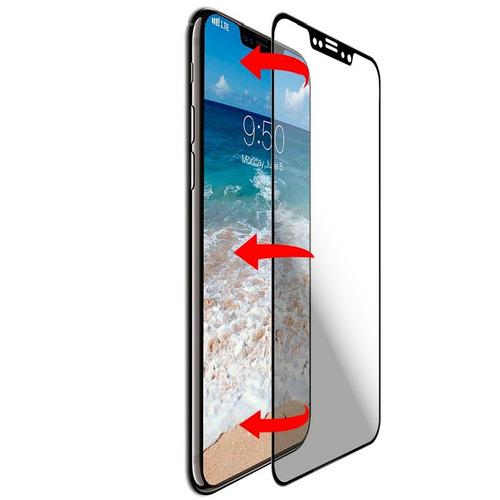 Protector Cristal Templado Curvo iPhone X iPhone 10 Full Pro