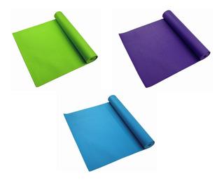 Tapete De Yoga Pilates Suave 4 Mm 61x181cm Colores Diferente