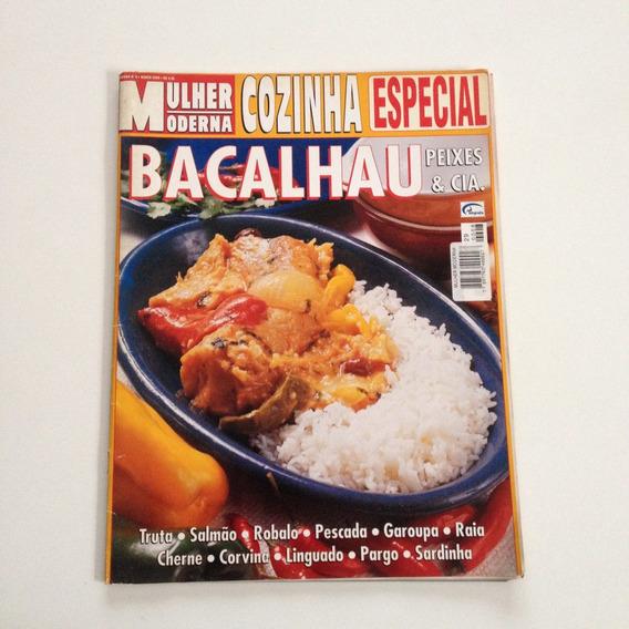 Revista Mulher Moderna Cozinha Bacalhau Peixes & Cia F522