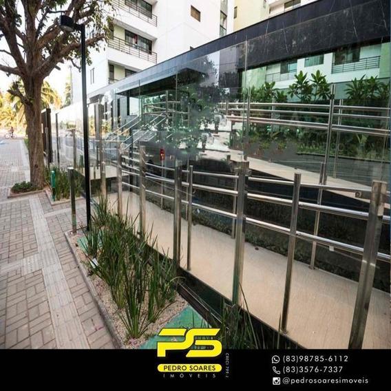 Apartamento Com 4 Dormitórios À Venda, 139 M² Por R$ 1.086.114 - Intermares - Cabedelo/pb - Ap3096