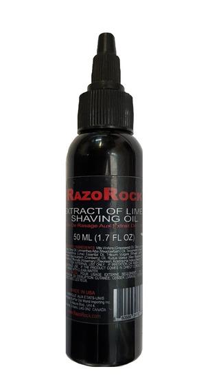 Razorock Extracting Of Limes Shaving Oil 50 Ml