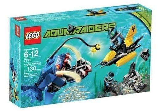 Lego: Aquaraiders #7771 Angler Ambush