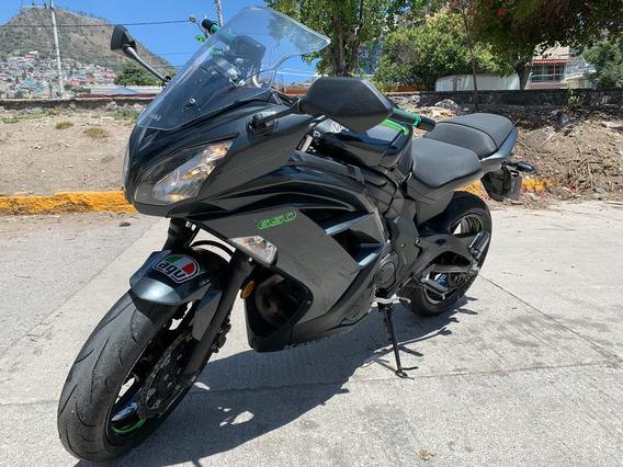 Kawasaki Ninja Ex650r Modelo 2016... Seminueva !!!!