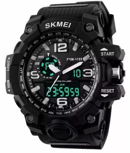Relógio Skmei Original Modelo 1155 Preto Prova D