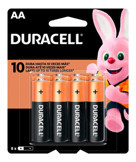Pilas Duracell Aa Blister X 8 Unidades
