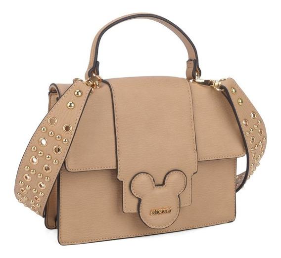 Bolsa Mickey Vermelho 2 Alças Ombro E Mão Disney 78366 Orig