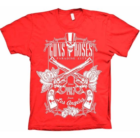 Camisetas Bandas - Guns N