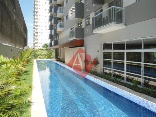 Apartamento Com 1 Dormitório À Venda, 65 M² Por R$ 528.900,00 - Alphaville Industrial - Barueri/sp - Ap0973