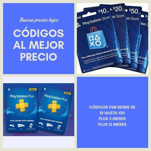 Tarjetas Prepago Playstation Network Card Usa Psn 10 20 50