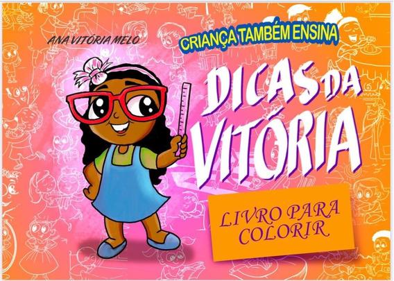 Livro Para Colorir Infantil Criança Também Ensina