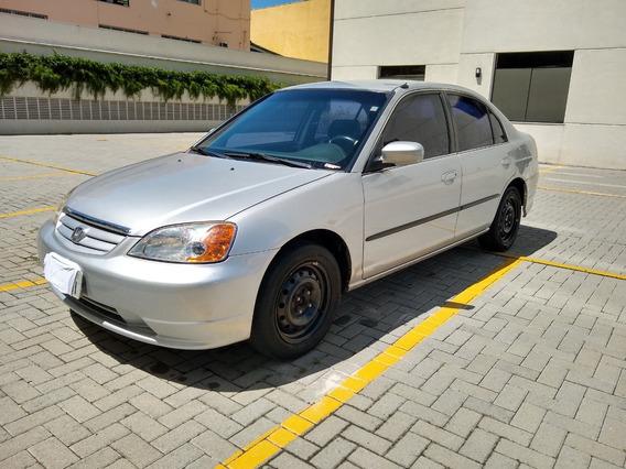 Civic Lx 1.7 Gasolina 2001 4 Portas