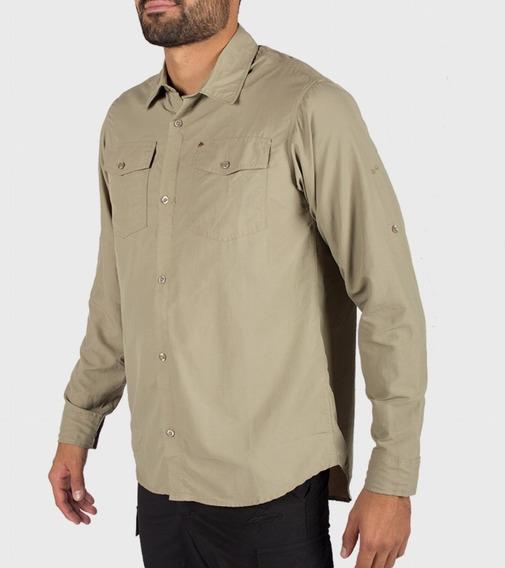 Camisa Montagne Sydney Ripstop Filtro Uv Espalda Ventilada