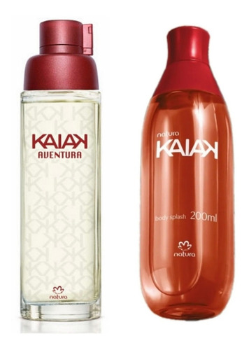 Perfume Kaiak Aventura Dama + Spray Natura Original
