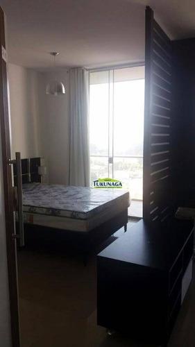 Studio Com 1 Dormitório À Venda, 36 M² Por R$ 250.000,00 - Vila Augusta - Guarulhos/sp - St0010