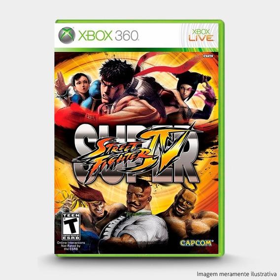 Super Street Fighter Iv 4 - Original Xbox 360 - Novo