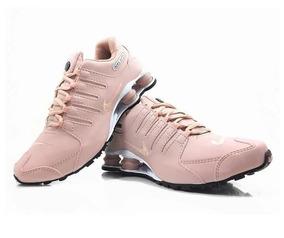 928d40e7734 Nike Shox Branco - Tênis Rosa no Mercado Livre Brasil